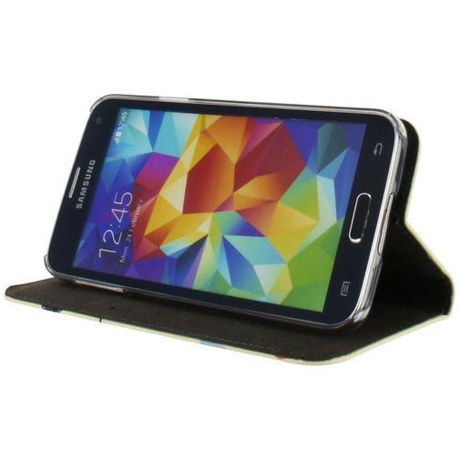Productafbeelding van de Mobilize Premium Magnet Stand Wallet Book Case I Love You Samsung Galaxy S5/S5 Plus/S5 Neo