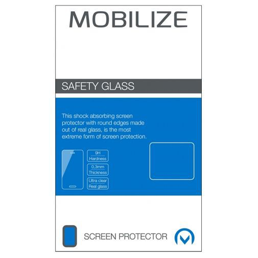 Productafbeelding van de Mobilize Safety Glass Screenprotector Motorola Moto G4 Plus