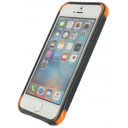 Productafbeelding van de Mobilize Shockproof Case Grey Apple iPhone 5/5S/SE