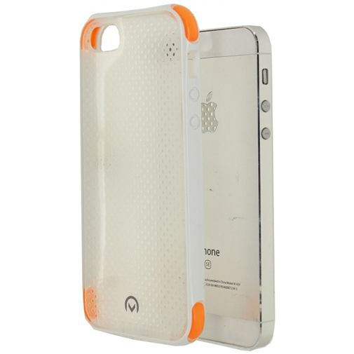 Productafbeelding van de Mobilize Shockproof Case White Apple iPhone 5/5S/SE