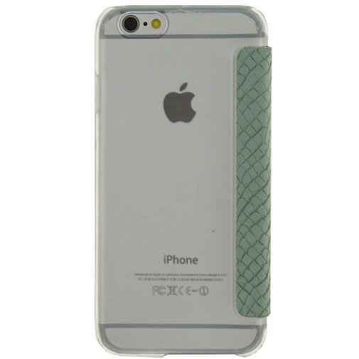 Productafbeelding van de Mobilize Slim Booklet Soft Snake Wild Moss Apple iPhone 6/6S