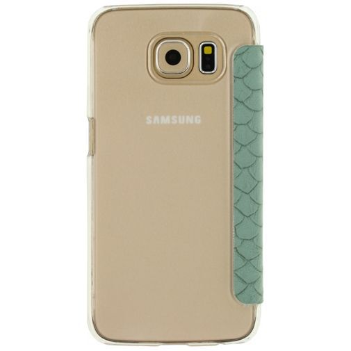 Productafbeelding van de Mobilize Slim Booklet Soft Snake Wild Moss Samsung Galaxy S6