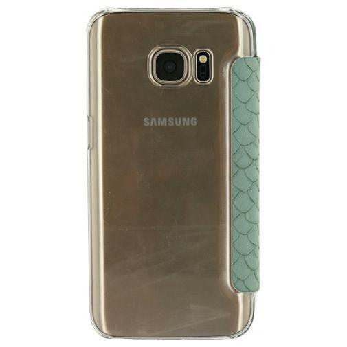 Productafbeelding van de Mobilize Slim Booklet Soft Snake Wild Moss Samsung Galaxy S7 Edge