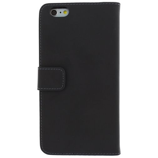 Productafbeelding van de Mobilize Slim Wallet Book Case Black Apple iPhone 6 Plus/6S Plus