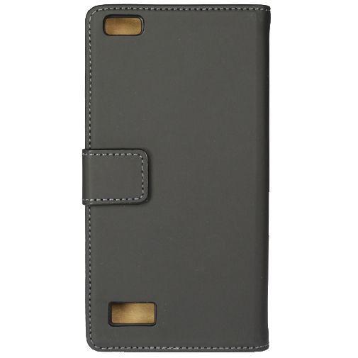 Productafbeelding van de Mobilize Slim Wallet Book Case Black BlackBerry Leap