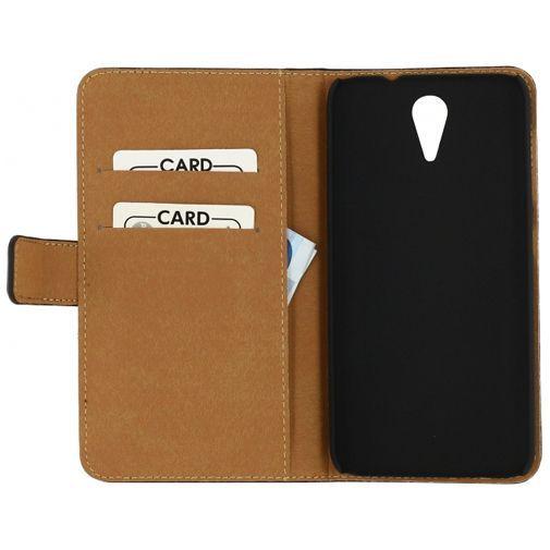 Productafbeelding van de Mobilize Slim Wallet Book Case Black HTC Desire 620