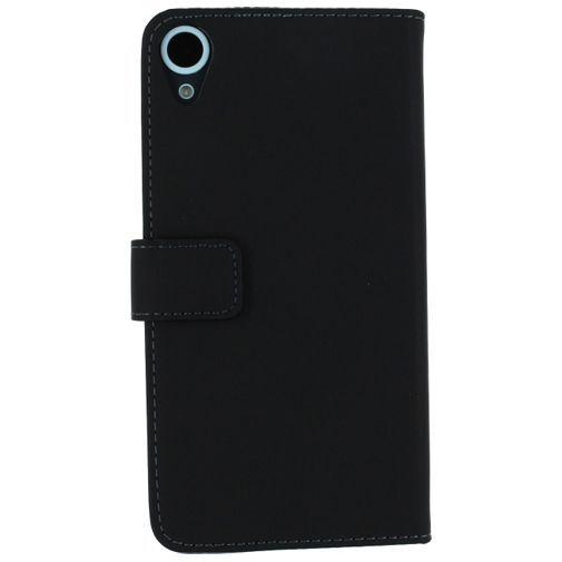 Productafbeelding van de Mobilize Slim Wallet Book Case Black HTC Desire 820