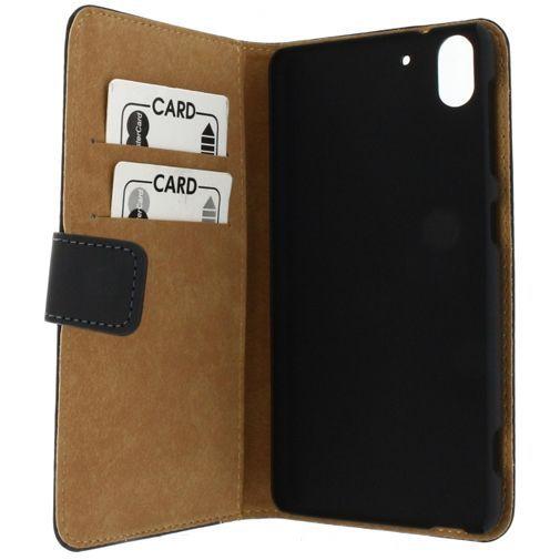 Productafbeelding van de Mobilize Slim Wallet Book Case Black HTC Desire Eye