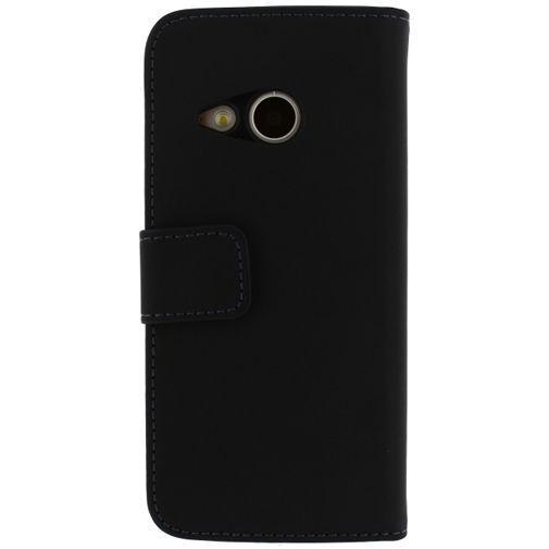 Productafbeelding van de Mobilize Slim Wallet Book Case Black HTC One Mini 2