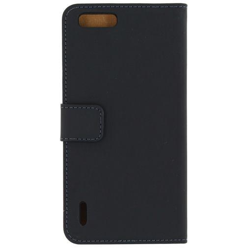 Productafbeelding van de Mobilize Slim Wallet Book Case Black Honor 6+