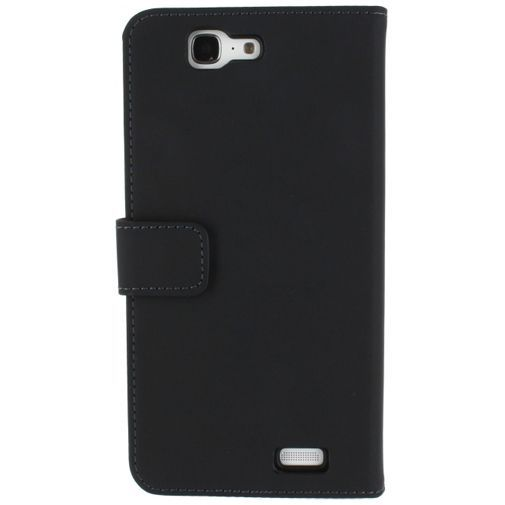 Productafbeelding van de Mobilize Slim Wallet Book Case Black Huawei Ascend G7