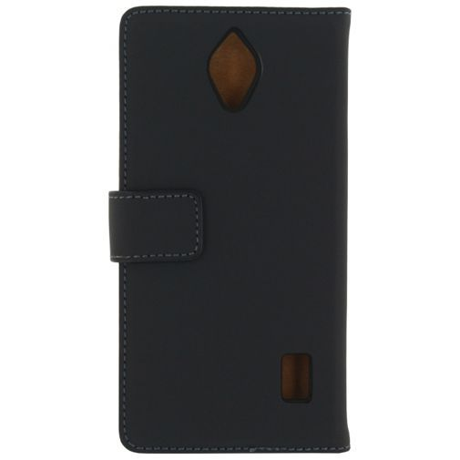 Productafbeelding van de Mobilize Slim Wallet Book Case Black Huawei Y635
