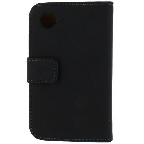 Productafbeelding van de Mobilize Slim Wallet Book Case Black LG L40