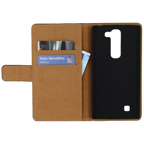 Productafbeelding van de Mobilize Slim Wallet Book Case Black LG Magna