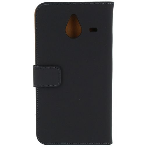 Productafbeelding van de Mobilize Slim Wallet Book Case Black Microsoft Lumia 640 XL 4G