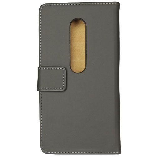 Productafbeelding van de Mobilize Slim Wallet Book Case Black Motorola Moto G (3rd Gen)
