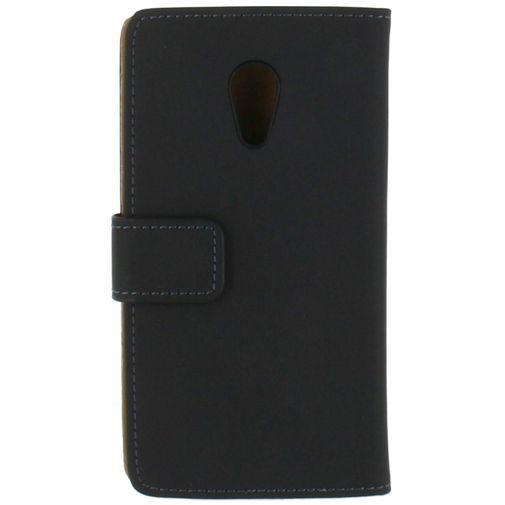 Productafbeelding van de Mobilize Slim Wallet Book Case Black Motorola New Moto G