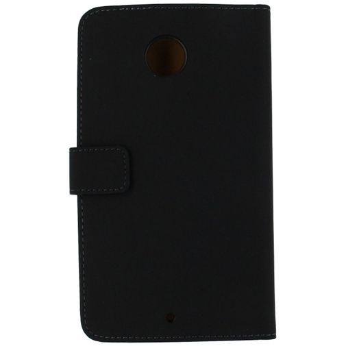 Productafbeelding van de Mobilize Slim Wallet Book Case Black Motorola Nexus 6