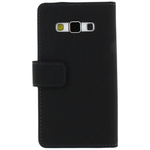Productafbeelding van de Mobilize Slim Wallet Book Case Black Samsung Galaxy A3
