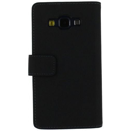 Productafbeelding van de Mobilize Slim Wallet Book Case Black Samsung Galaxy A5