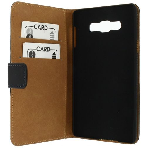 Productafbeelding van de Mobilize Slim Wallet Book Case Black Samsung Galaxy A7