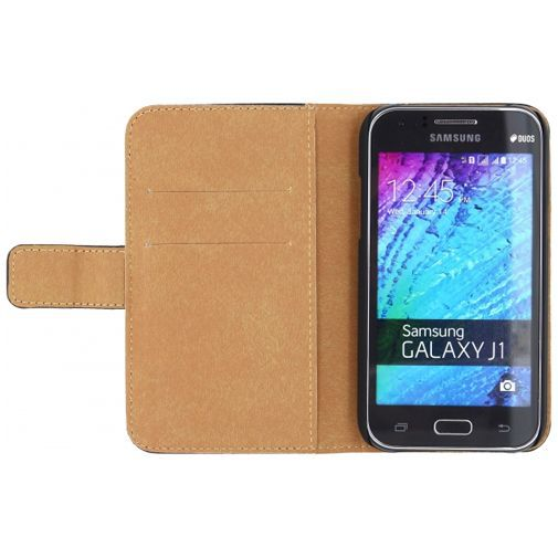 Mobilize Slim Wallet Book Case Black Samsung Galaxy J1