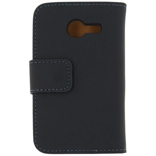 Productafbeelding van de Mobilize Slim Wallet Book Case Black Samsung Galaxy Pocket 2