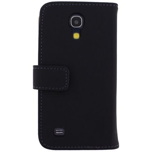 Productafbeelding van de Mobilize Slim Wallet Book Case Black Samsung Galaxy S4 Mini (VE)