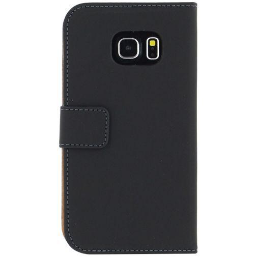 Productafbeelding van de Mobilize Slim Wallet Book Case Black Samsung Galaxy S6 Edge