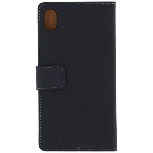 Productafbeelding van de Mobilize Slim Wallet Book Case Black Sony Xperia M4 Aqua