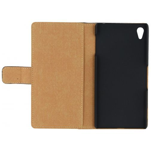 Productafbeelding van de Mobilize Slim Wallet Book Case Black Sony Xperia Z3 Plus