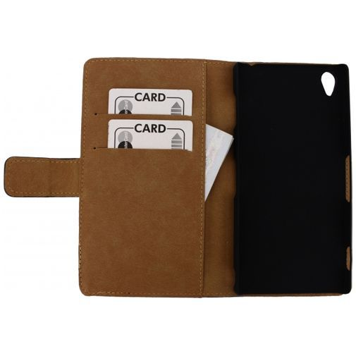 Productafbeelding van de Mobilize Slim Wallet Book Case Black Sony Xperia Z3