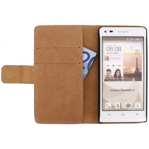 Mobilize Slim Wallet Book Case Huawei Ascend G6 Black