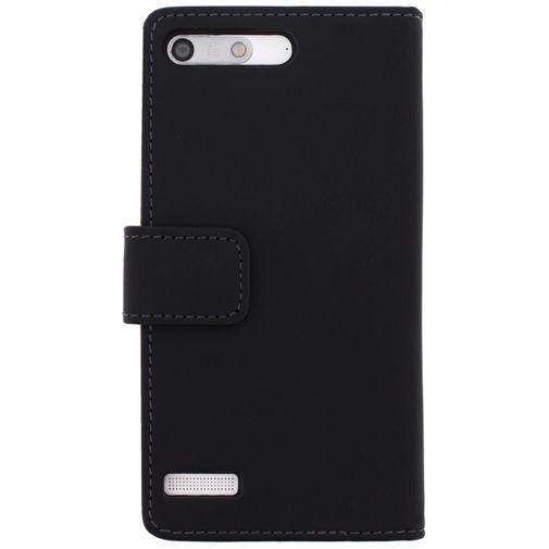 Productafbeelding van de Mobilize Slim Wallet Book Case Huawei Ascend G6 Black