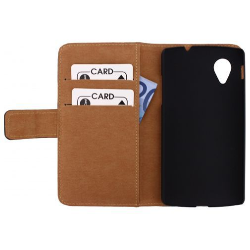 Productafbeelding van de Mobilize Slim Wallet Book Case LG Nexus 5 Black