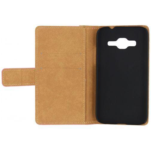 Productafbeelding van de Mobilize Slim Wallet Book Case Pink Samsung Galaxy Core Prime