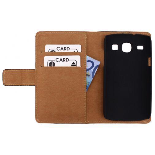 Productafbeelding van de Mobilize Slim Wallet Book Case Samsung Galaxy Core Black