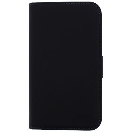 Productafbeelding van de Mobilize Slim Wallet Book Case Black Samsung Galaxy S5/S5 Plus/S5 Neo