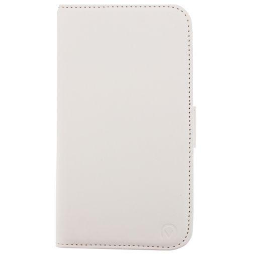 Productafbeelding van de Mobilize Slim Wallet Book Case White Samsung Galaxy S5/S5 Plus/S5 Neo