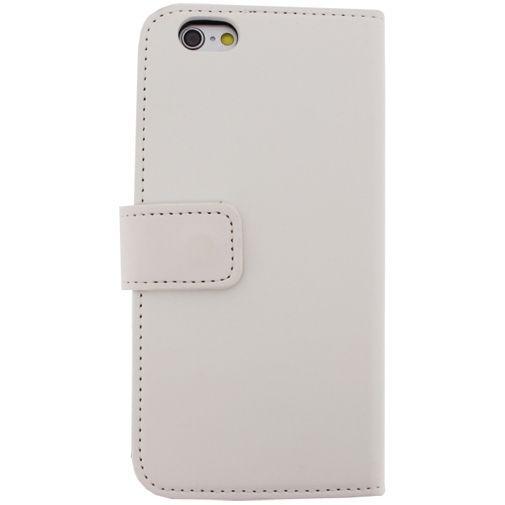 Productafbeelding van de Mobilize Slim Wallet Book Case White Apple iPhone 6/6S