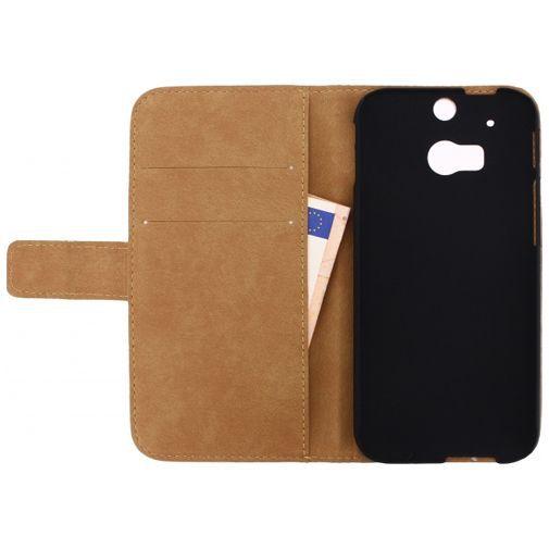 Productafbeelding van de Mobilize Slim Wallet Book Case White HTC One M8/M8s