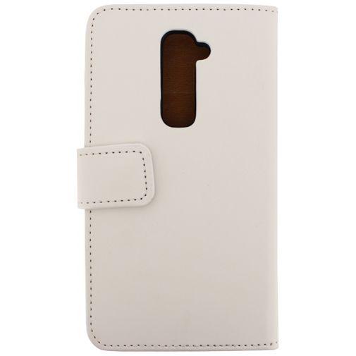 Productafbeelding van de Mobilize Slim Wallet Book Case White LG G2