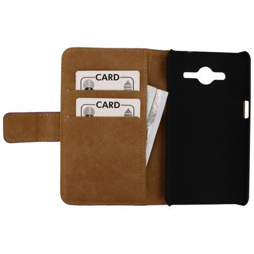 Productafbeelding van de Mobilize Slim Wallet Book Case White Samsung Galaxy Core 2