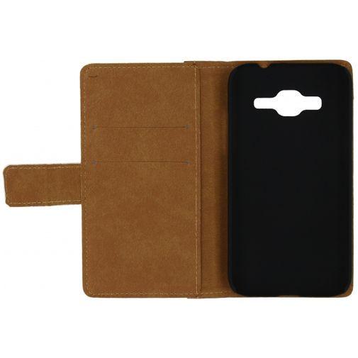 Productafbeelding van de Mobilize Slim Wallet Book Case White Samsung Galaxy Core Prime (VE)