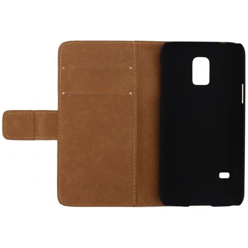 Productafbeelding van de Mobilize Slim Wallet Book Case White Samsung Galaxy S5 Mini