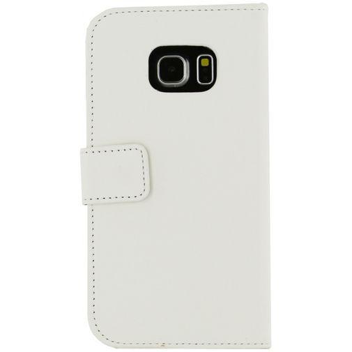 Productafbeelding van de Mobilize Slim Wallet Book Case White Samsung Galaxy S6 Edge