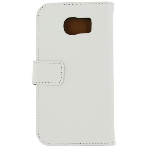 Productafbeelding van de Mobilize Slim Wallet Book Case White Samsung Galaxy S6