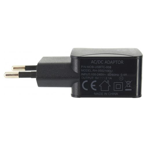 Productafbeelding van de Mobilize Travel Charger Single USB 2.1A Black