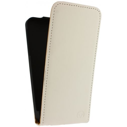 Productafbeelding van de Mobilize Ultra Slim Flip Case White Apple iPhone 5C