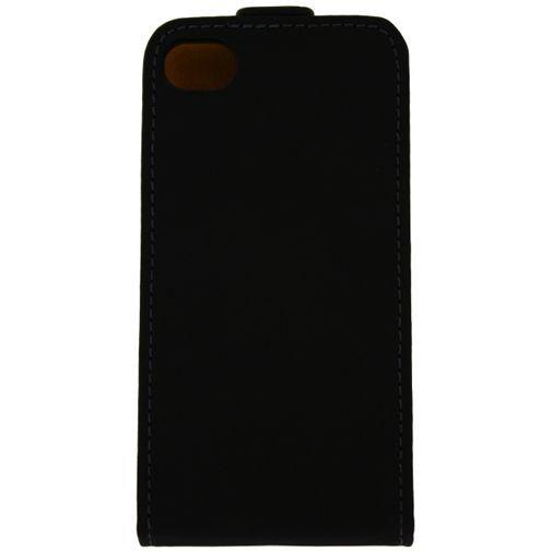 Productafbeelding van de Mobilize Ultra Slim Flip Case Black Apple iPhone 4/4S